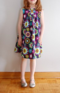 Butterick B4176 in Modern Bloom sewn by Lulu & Celeste