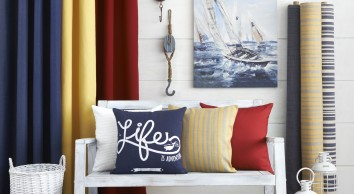 Latest Home Decor Trends Bohemian Chic Woodstock & Nautical Themes